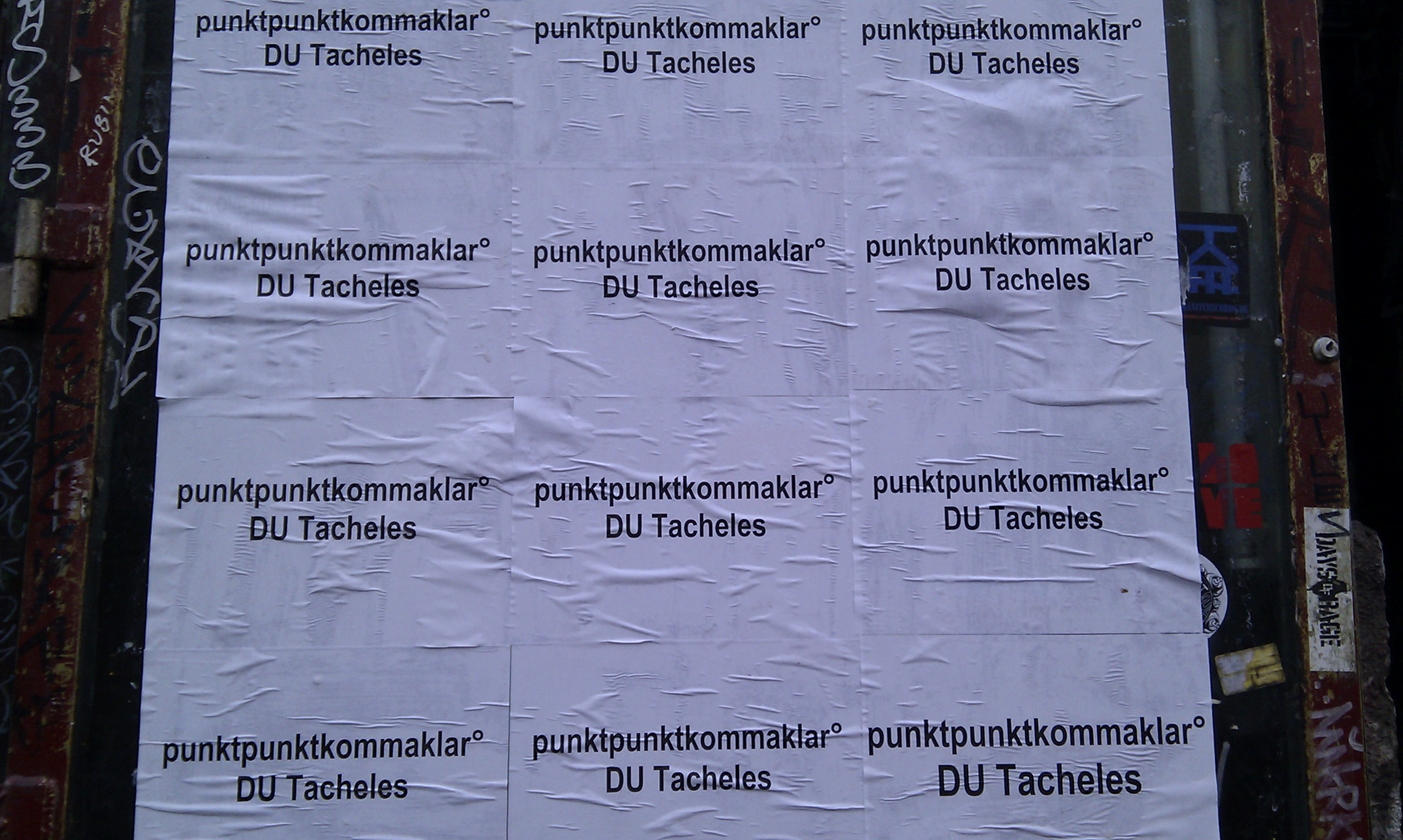 Tacheles, Oranienburger Straße, 2011-01-22